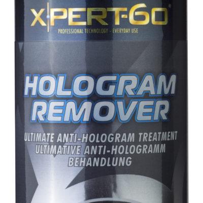 Xpert-60 Hologram Remover 500ml bottles no reflection